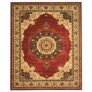EORC Red Medallion Tabriz Rug (5'3 x 7'3)