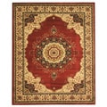 EORC Red Medallion Tabriz Rug (7'10 x 9'10)