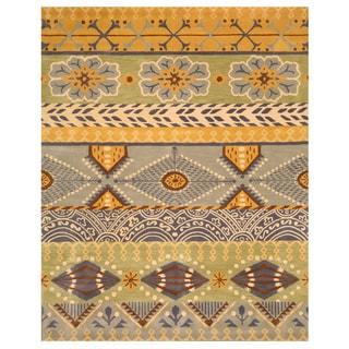 EORC Hand-tufted Wool Cabaret Rug (5' x 8')