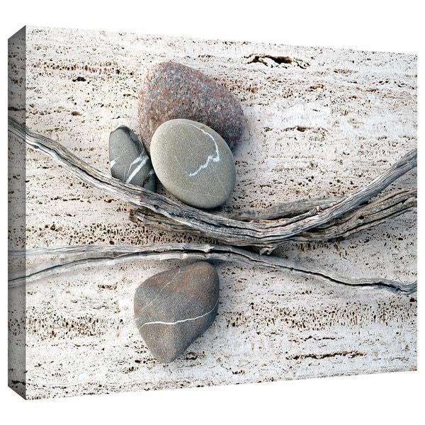 Elena Ray 'Still Life Sticks Stones' Gallery-wrapped Canvas Art