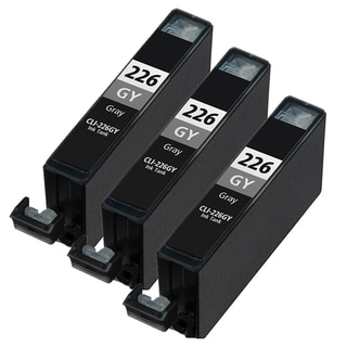 Canon CLI226 Gary Compatible Inkjet Cartridge (Remanufactured) (Pack of 3)
