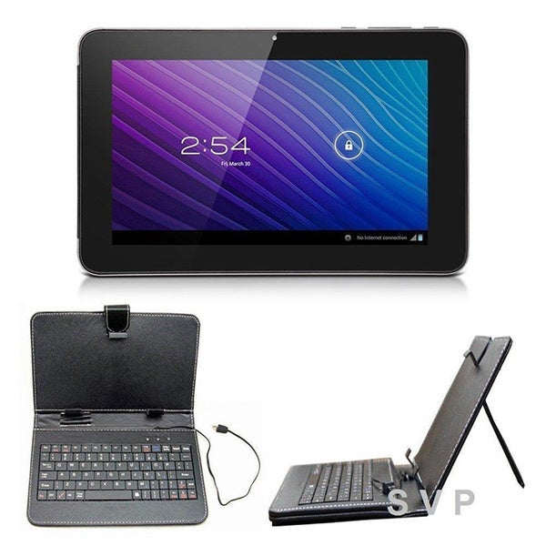 Dual Core Dual Camera HDMI 10-inch Android 4.1 Capacitive Touchscreen Tablet with Keyboard Case