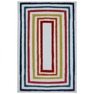kids Fun Borders Multi Nylon Rug (8' x 10')