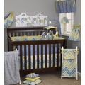 Cotton Tale Zebra Romp 8-piece Crib Bedding Set