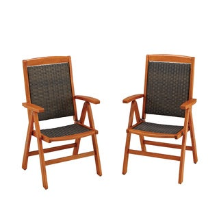 Bali Hai Outdoor Dining Chair Pair