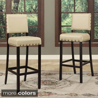 Baxton Studio Noah Modern Bar Stools (Set of 4)