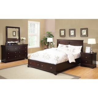 Abbyson Living 'Wilshire' 5-piece Espresso Storage Bedroom Set