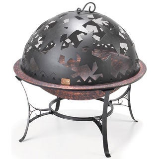Starry Night Small Black/ Copper Fire Dome