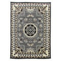 Kingdom Design 141 Grey Color Area Rug (5' x 7')