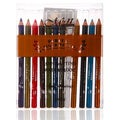 Shany Perfect Eye and Lip Liner Waterproof Pencils (Set of 12)