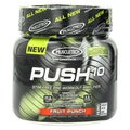 MuscleTech Push 10 Fruit Punch Flavored Stimulant-Free Pre-Workout Powder (1 pound)
