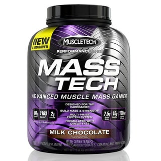 Muscletech Performance Series MASS TECH Weight Gainer Chocolate (7 pounds)