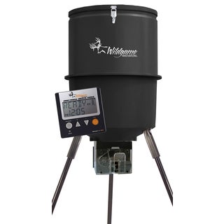 Direction Shot 40-gallon Black Directional Digital Feeder