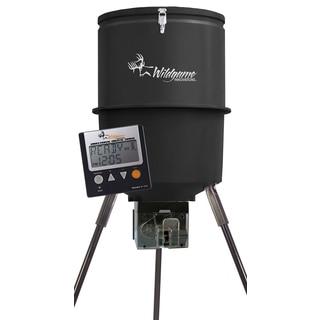 Direction Shot 40-gallon Black Directional Digital Feeder