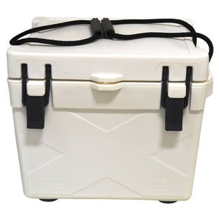 Brute Box 25-quart White Ice Cooler