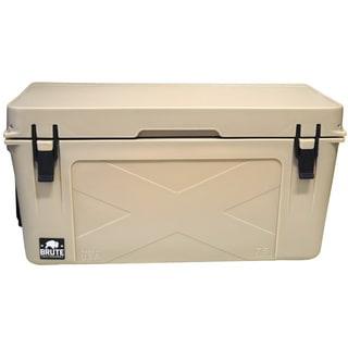 Brute Box 75-quart Tan Ice Cooler
