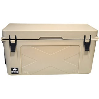 Brute Box 75-quart Tan Ice Cooler
