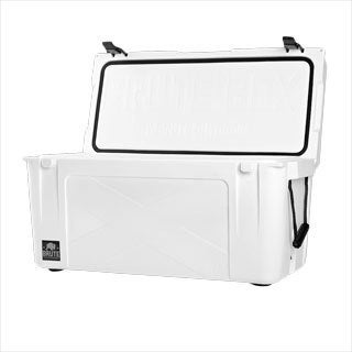 Brute Box by Bison Coolers 75-quart White Ice Cooler
