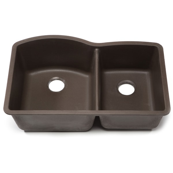 Blanco Silgranit Kitchen Sinks : ... Silgranit Diamond Cafe Brown 1-3/4 Undermount Double Bowl Kitchen Sink