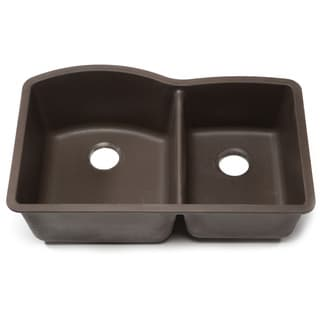 Blanco Silgranit Diamond Cafe Brown 1-3/4 Undermount Double Bowl Kitchen Sink