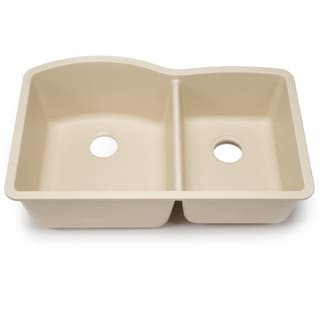 Blanco Silgranit Diamond Biscotti 1-3/4 Undermount Double Bowl Kitchen Sink