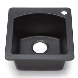 Blanco Silgranit Diamond Anthracite Dual Mount Bar Sink