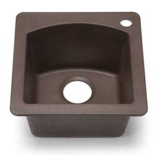 Blanco Silgranit Diamond Cafe Brown Dual Mount Bar Sink