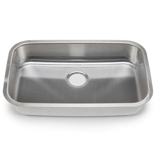 Blanco Stellar 18-gauge Steel Undermount Single ADA Bowl Kitchen Sink