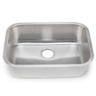 Blanco Stellar 18-gauge Steel Medium Single Bowl Kitchen Sink