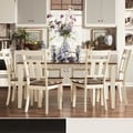 Eli Rustic Black Cherry 7-piece Mission Extending Dining Set
