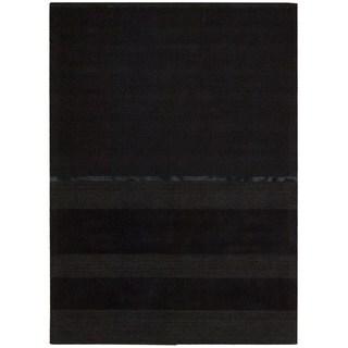 Calvin Klein Vale Onyx Black Rug (4' x 6')
