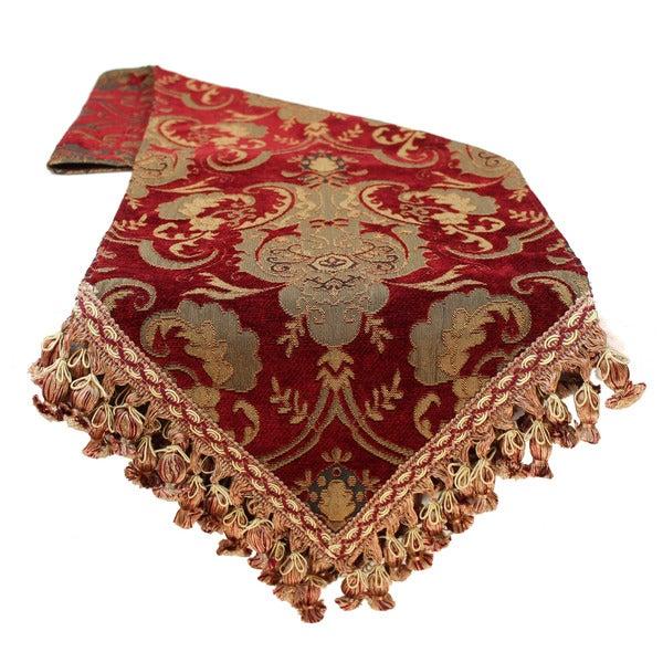 Sherry kline china art red luxury table runner 15947388 overstock
