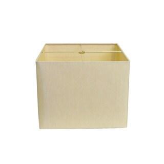 Square Beige Hard-back Lamp Shade