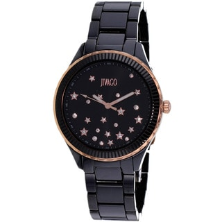 Jivago Women's Quartz Black Dial Sky Watch