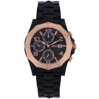Jivago Women's Quartz Black Dial Prexy Watch