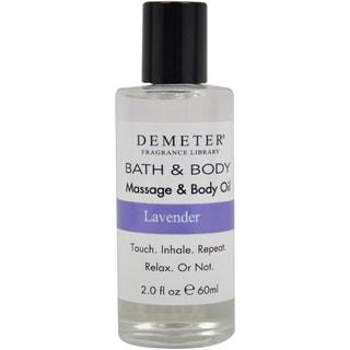 Demeter 'Lavender' 2-ounce Massage & Body Oil