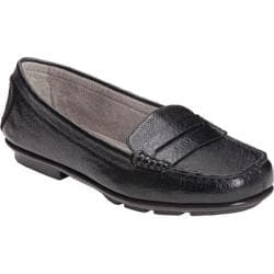 Women's A2 by Aerosoles Continuum Black Faux Leather