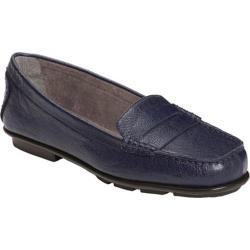 Women's A2 by Aerosoles Continuum Navy Faux Leather