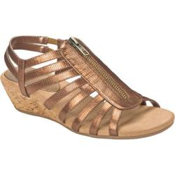 Women's A2 by Aerosoles Yetaway Bronze Snake