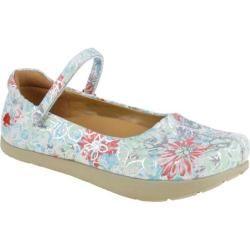 Women's Kalso Earth Shoe Solar Flower Multi Printed Leather