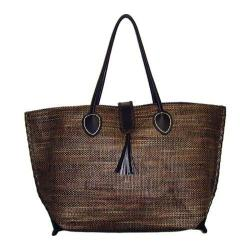 Women's Bamboo54 from Rayon Mat Tote Brown