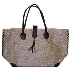 Women's Bamboo54 Metallic Tote Bag Silver