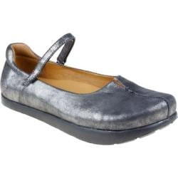 Women's Kalso Earth Shoe Solar Pewter Distressed Kid