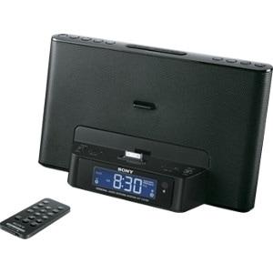 Sony ICF-CS15IP 2.0 Speaker System - 7 W RMS - Black