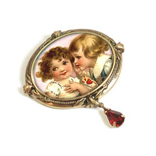 Sweet Romance 'Sweet Nothings' Valentine Pin