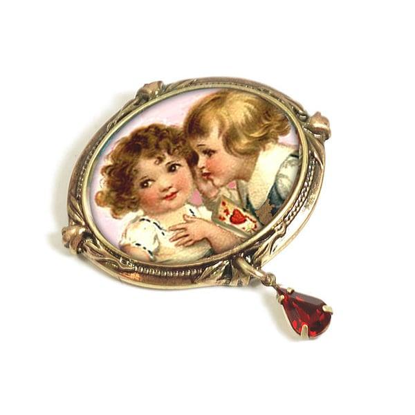 Sweet Romance 'Sweet Nothings' Valentine Pin
