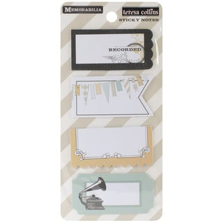 Memorabilia Sticky Note Pads (Pack of 4)