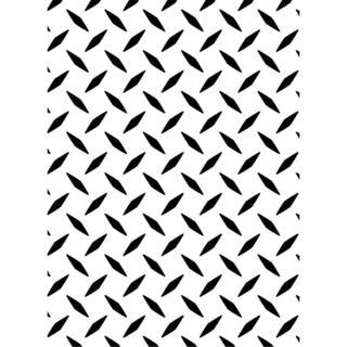 Embossing Folder 4.25 X5.75 - Diamond Plate