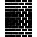 Embossing Folder 4.25 X5.75 - Brick Pattern
