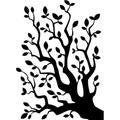 Embossing Folder 4.25 X5.75 - Branch W/Leaves